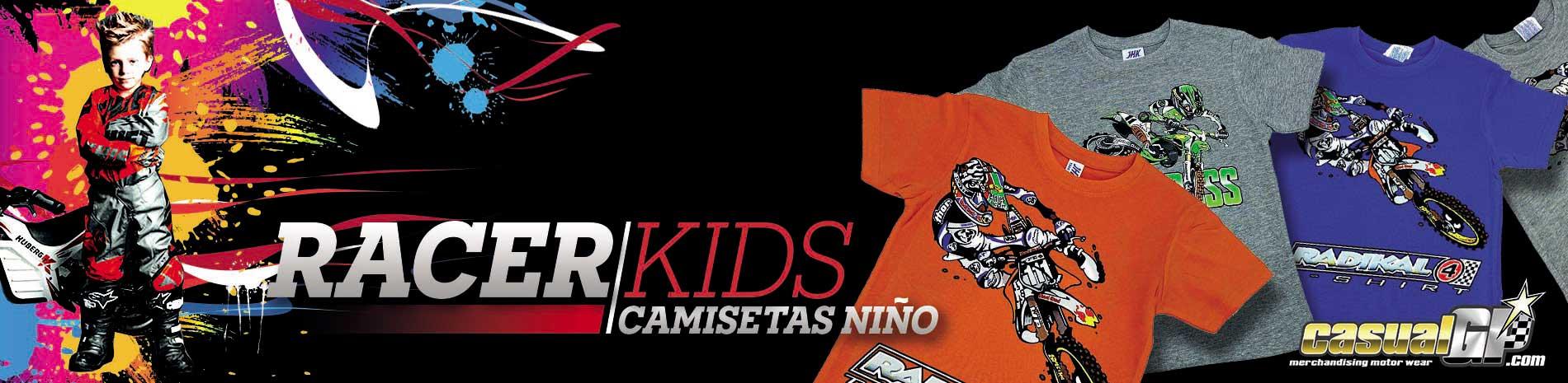Camisetas niño CasualGp